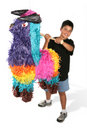 Boy Hitting Pinata Royalty Free Stock Image