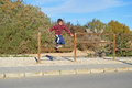 Boy Jumping A Fence Royalty Free Stock Photo