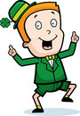 Boy Leprechaun Royalty Free Stock Photos