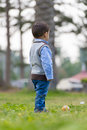 Boy Looking Away Royalty Free Stock Photo