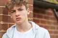 Boy Male Child Teenager Wearing Hoody