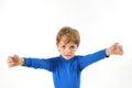 Boy need hug Royalty Free Stock Photo