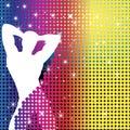 Boy Party Rainbow Dots Royalty Free Stock Photo