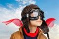 Boy pilot Royalty Free Stock Photo