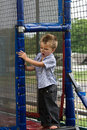 Boy at playground Royalty Free Stock Photography
