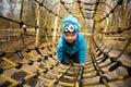 Boy in playground Royalty Free Stock Photo