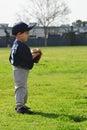 Boy playing baseball Royalty Free Stock Photo