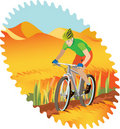 Boy riding Royalty Free Stock Photo