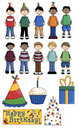 Boy's Birthday Party Stock Images
