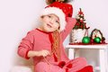 Boy Santa Claus Royalty Free Stock Images