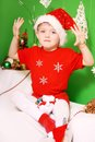 Boy Santa Claus Royalty Free Stock Photography
