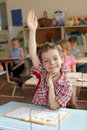 Boy in school class. Series Royalty Free Stock Images