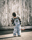 Boy standing Royalty Free Stock Image