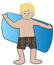 Boy swimmer Royalty Free Stock Photos