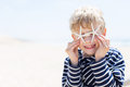 Boy at vacation Royalty Free Stock Photo