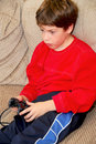 Boy video game Royalty Free Stock Photography