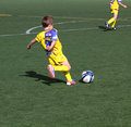 Boys on the Alicante City Youth Soccer Cup Royalty Free Stock Image