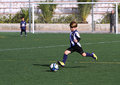 Boys on the Alicante City Youth Soccer Cup Royalty Free Stock Photo