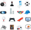Boys hobbies Royalty Free Stock Image