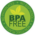 BPA Free Label Illustration Stock Photography