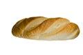 Bröd isolerad white Arkivbilder