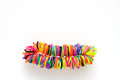 Bracelet Made Of Colorful Rubb...