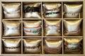 Bracelets in bijouterie store Royalty Free Stock Photo