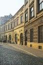 Bracka street in early morning light, Krakow, Poland. Royalty Free Stock Photo