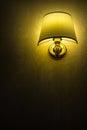 Bracket lamp Royalty Free Stock Photo