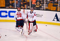 Braden Holtby and Michal Neuvirth NHL Hockey Stock Photo