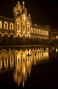 Braga by night Stock Photo