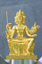 Brahma Worship Royalty Free Stock Photo