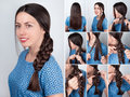 Braided Hairdo For Long Hair T...