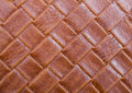 Braided leather background Royalty Free Stock Photo