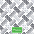 Braided stripped geometric seamless pattern.