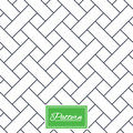 Braided stripped geometric seamless pattern.