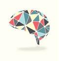Brain Activity Abstract Vector Royalty Free Stock Photo
