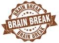 Brain break stamp