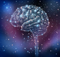 Brain Intelligence Discovery Stock Image