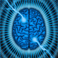 Brain power concept. Royalty Free Stock Image