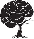 Brain tree Stock Photography
