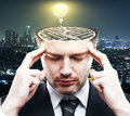 Brainstorm ideas concept