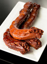 Braised duck necks chinese cuisine Royalty Free Stock Photos