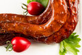 Braised duck necks chinese cuisine Royalty Free Stock Images