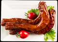 Braised duck necks chinese cuisine Royalty Free Stock Photography