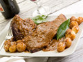 Braised meat Royalty Free Stock Photo