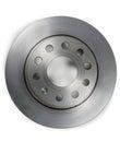 Brake disc isolated on  white background Royalty Free Stock Photo