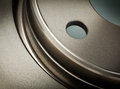 Brake disk for the car Stock Images