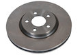 Brake disk of the car on a white background Stock Photo