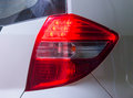 Brake lights car tail light close up tail ligh automobile part Stock Photos